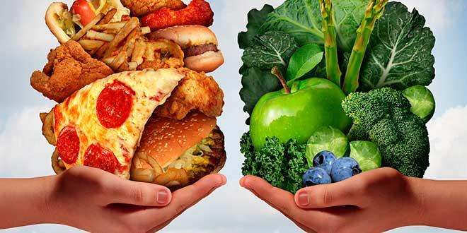 Hábitos Sanos VS Malos Hábitos