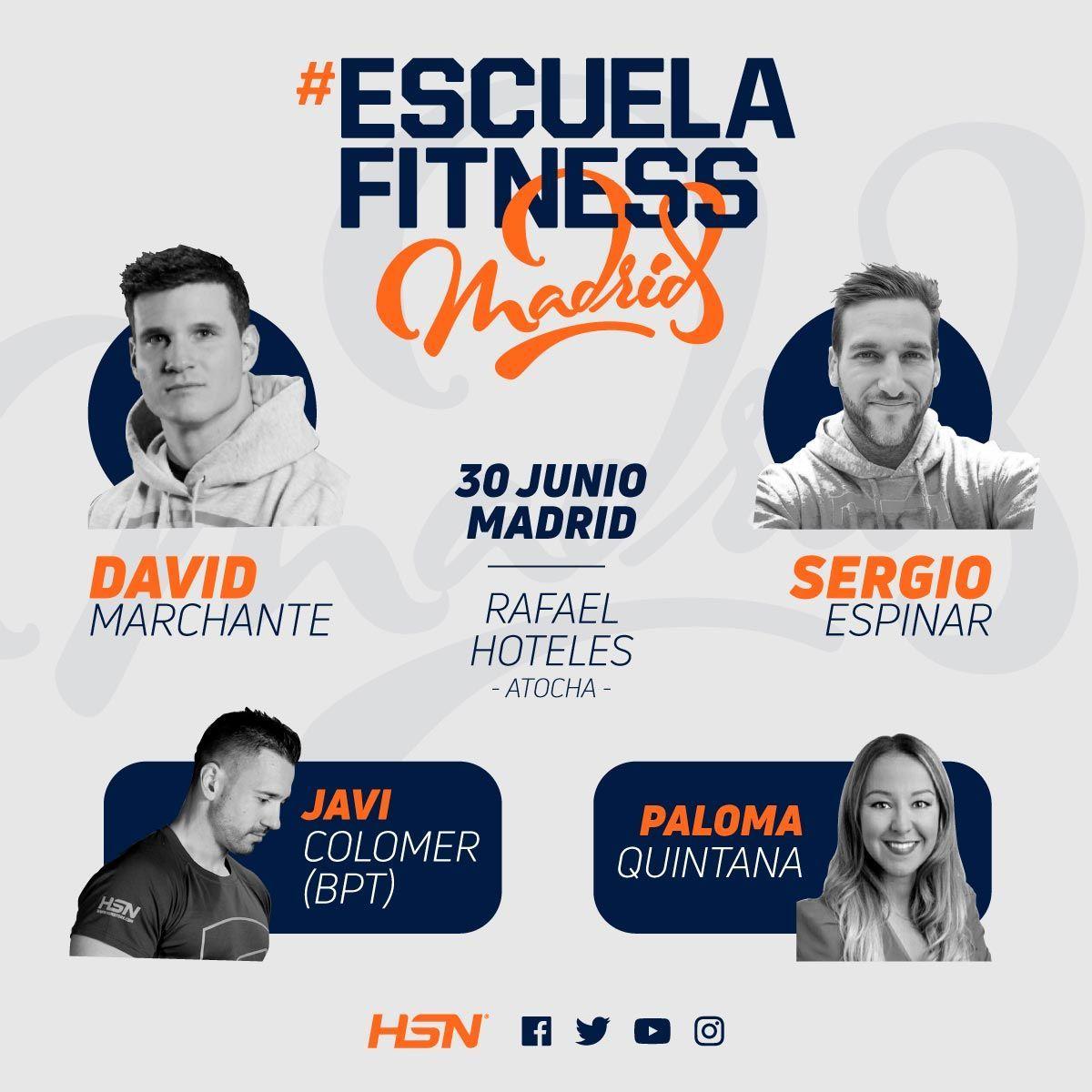 #EscuelaFitness 2018
