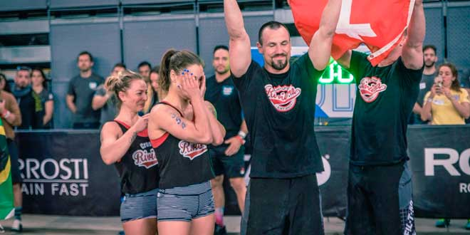 CrossFit descalifica a un equipo para Games