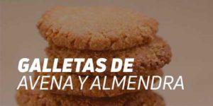 Galletas de Avena y Almendra