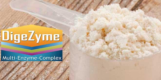 Proteínas con Digezyme
