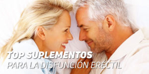 Suplementos para la disfunción eréctil