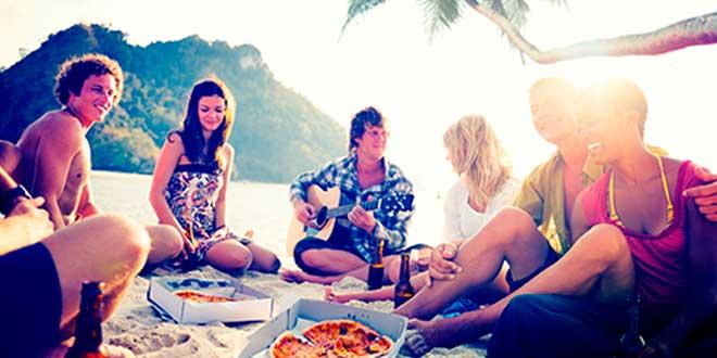 Saltarse la Dieta en Vacaciones