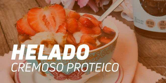 Helado Proteico de Plátano