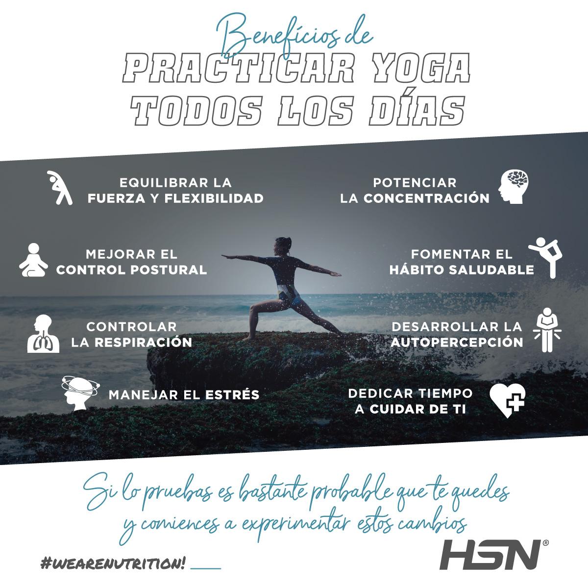 beneficios de practicar yoga todos los dias