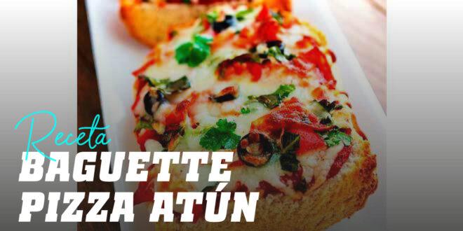 Baguette Pizza de Atún