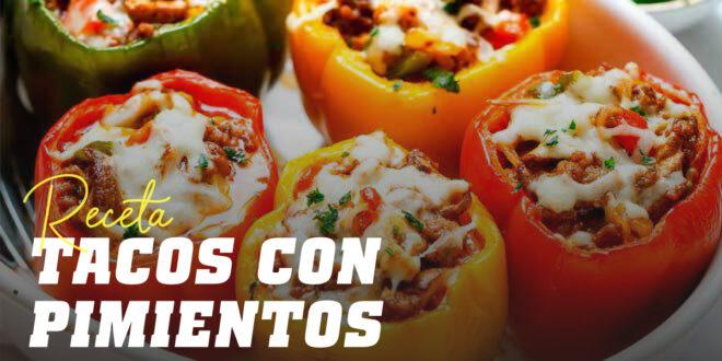 Tacos Mejicanos con Pimientos Asados