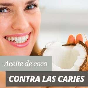 Aceite de Coco para las caries