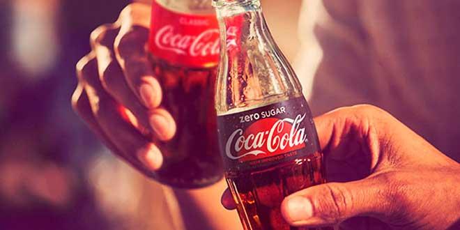 Bebedor de Coca Cola Zero