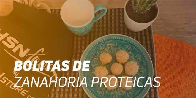 Bolitas de Zanahoria y Coco Proteicas