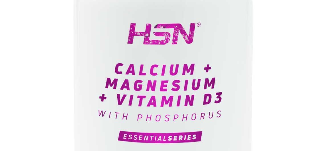 ¿Qué es Calcio Magnesio y Vitamina D de HSNessentials?