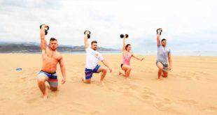 Como Entrenar en la Playa en Vacaciones
