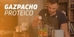 Receta Gazpacho Proteico por Saúl Craviotto