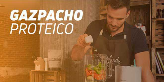 Gazpacho Proteico por Saúl Craviotto