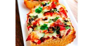 Receta Pizza Baguette
