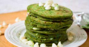 Tortitas de Avena y Claras con Pistachos