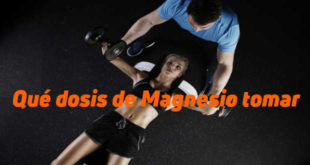 Dosis Magnesio