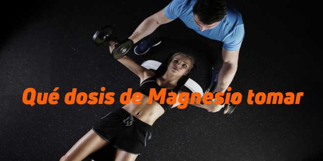 Carbonato de magnesio para adelgazar dosis