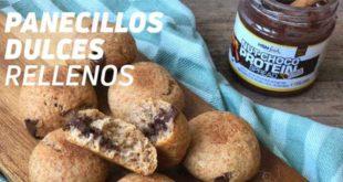 Panecillos Dulces Rellenos de Chocolate
