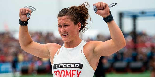 Tia Toomey, la mujer más en forma del planeta 2018, se va con Rich Froning