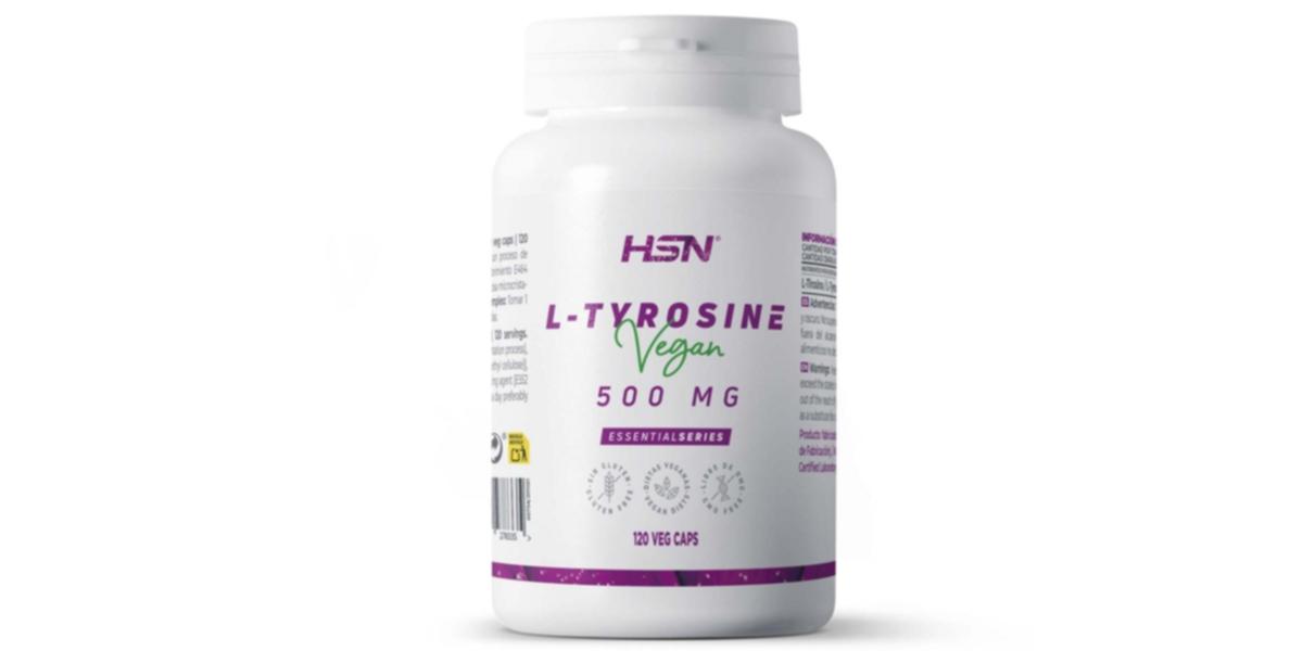 L-Tirosina en Cápsulas de EssentialSeries