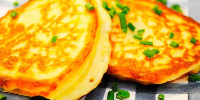 Tortitas de Avena y Claras con Patata
