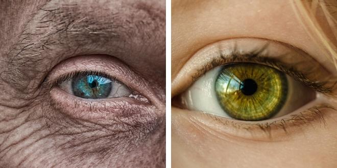 Mirada de envejecimiento