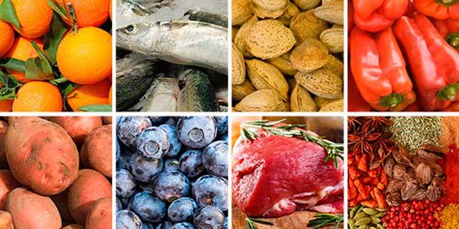 Alimentos Dieta Paleo