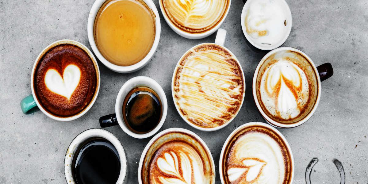 ¿Qué tipos de café se utilizan habitualmente?