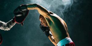Lucha del hombre próstata