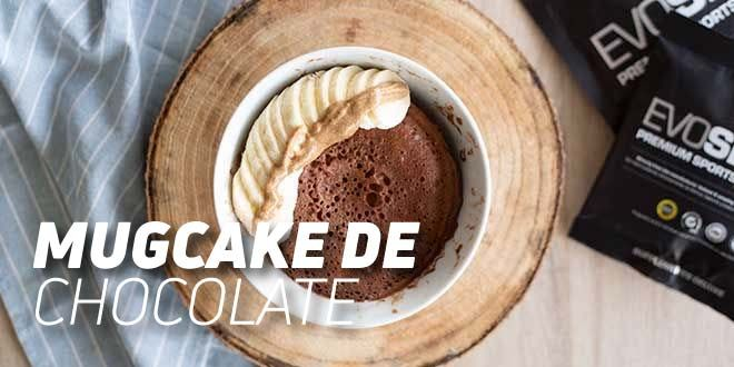 MugCake de Chocolate