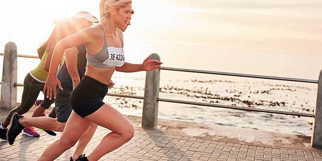 Anticonceptivos y mujer corredora