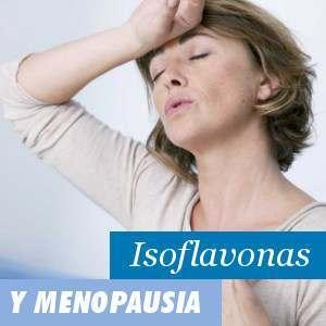 Isoflavonas de soja y menopausia