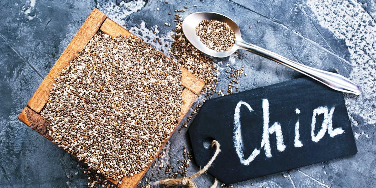 ¿Son las semillas de chía una fuente completa de hierro?