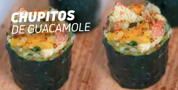 Chupitos de Guacamole