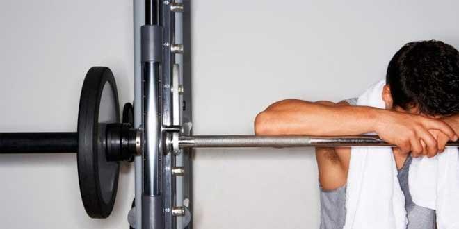Hacer pesas estando malo