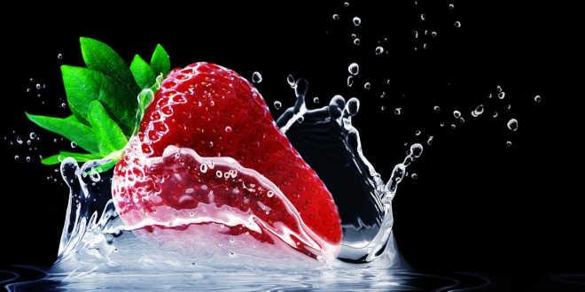 Fruta para la hidratación de la piel