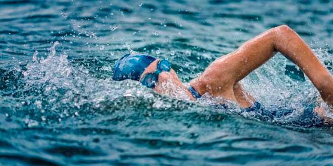 Sprints nadando