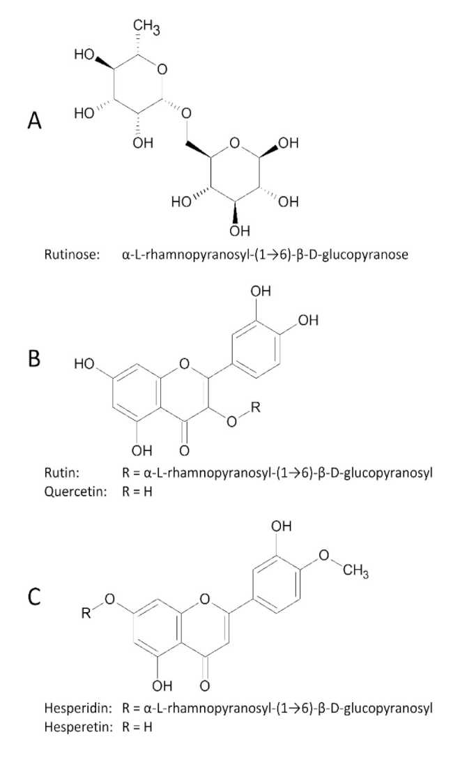 Rutina hidrólisis enzimática