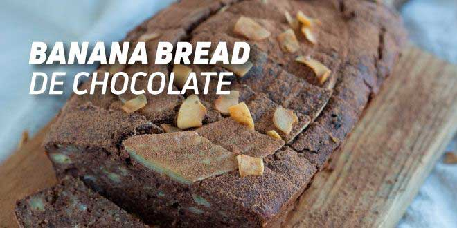 Banana Bread de Chocolate