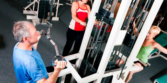 El entrenamiento de fuerza evita la sarcopenia