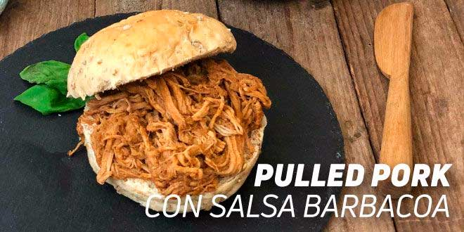 Pulled Pork con Salsa Barbacoa