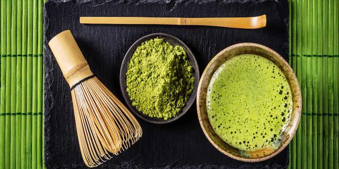 Necesidades para preparar Té Matcha