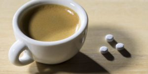 Pastillas de cafeína
