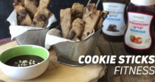 Receta Cookies Sticks