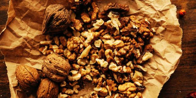 Nueces como fuente de vitamina E