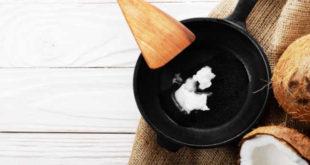 Cocinar con aceite de coco ventajas