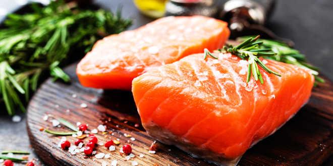Vitamina A en el salmón