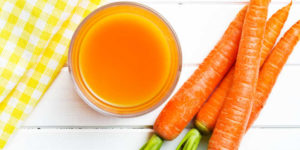 Vitamina A en la zanahoria