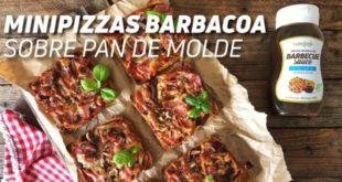 Receta Minipizzas de Barbacoa